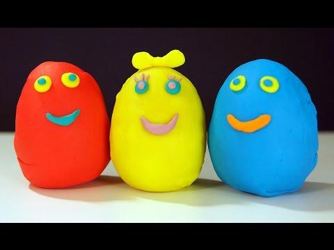 Мультики Сюрпризы Огромные Яйца с Сюрпризом Play Doh Щенячий Патруль
