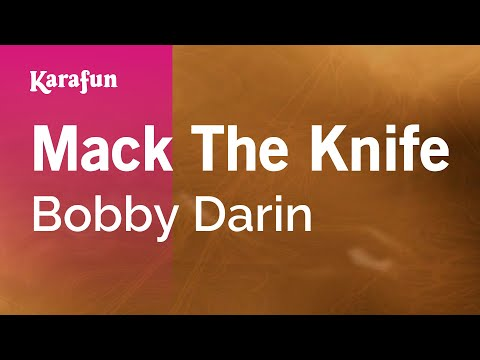 Mack The Knife - Bobby Darin | Karaoke Version | KaraFun