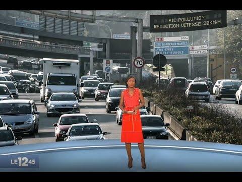 Particules fines: les véhicules les plus polluants interdits de circulation mercredi
