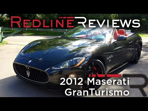 2012 Maserati GranTurismo Convertible Sport Review, Walkaround, Exhaust, Start-Up & Rev
