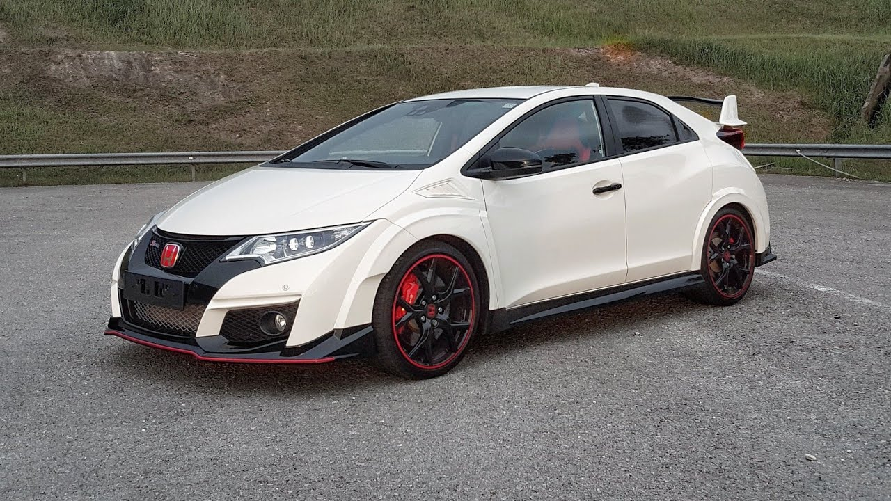 2017 Honda Civic TYPE-R FK2R Championship White