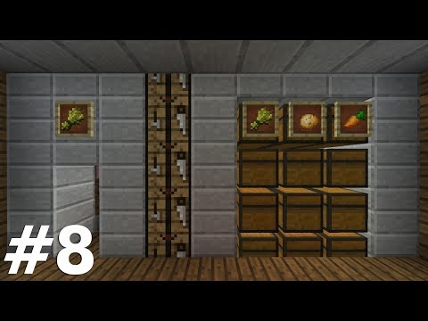 NANO FARM SİSTEMİ ! #8 Minecraft Survival 1.12.2