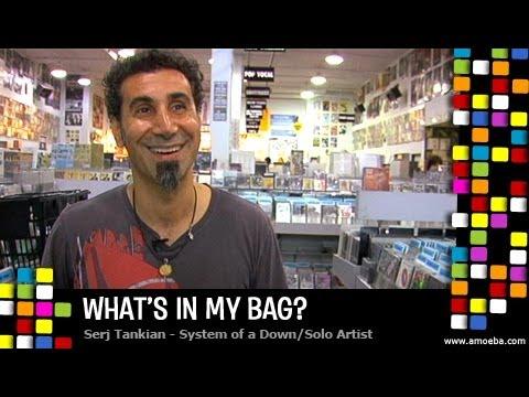 Serj Tankian - What's In My Bag?