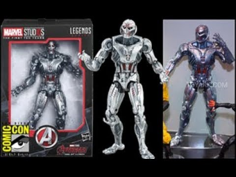 Marvel Legends Ultron figurine MCU 10th anniversaire