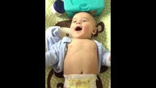 Laughing On The Changing Table