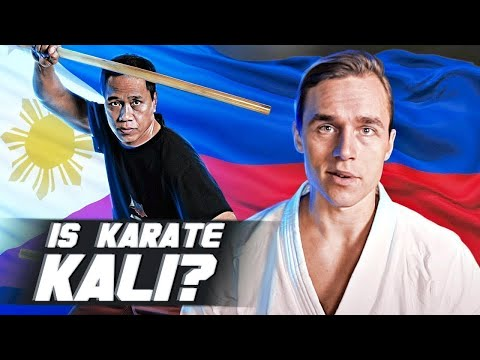 Why Karate Is Actually A Filipino Martial Art (Kali)
