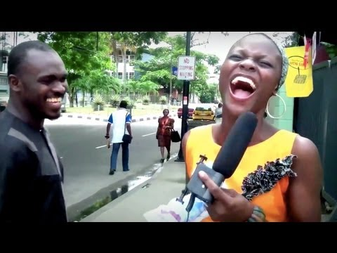 Nigeria Funny Street Quiz Prize N Recharge Card