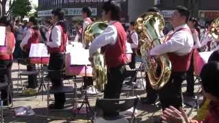 2014年10月19日 久喜市立東中学校吹奏楽部「SMILY」