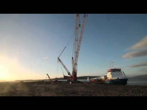 SSE  5221   Hunterston Timelapse   The Arrival   V1