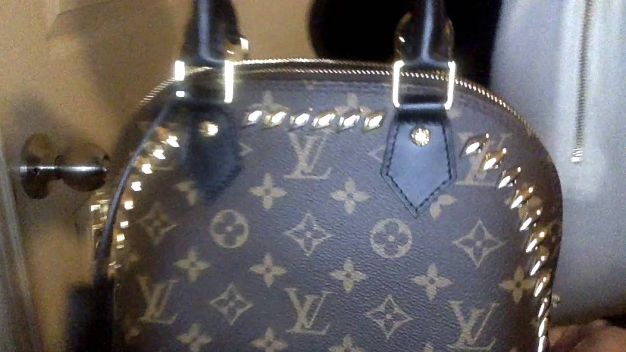 Louis Vuitton Unboxing - Alma BB w  Studs -Cruise 2016 Collection - YouTube 7773affb60c2f