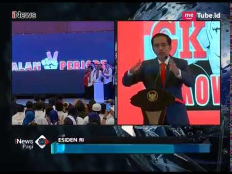 Marah!! Jokowi Semprot Prabowo Tanggapi Indonesia 2030 Bubar - INews Pagi 08/04