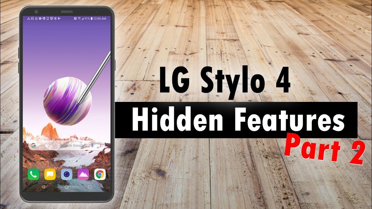 MORE Hidden Features of the LG Stylo 4 You Don't Know About   H2TechVideos