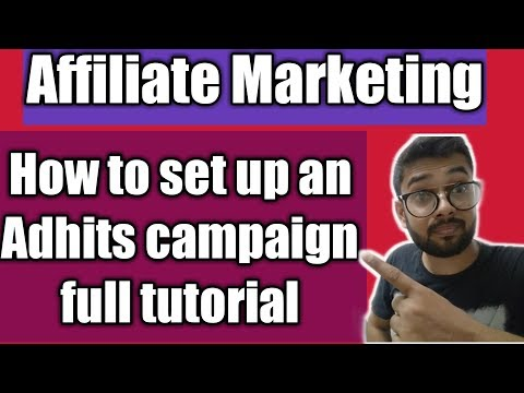 Make Money Online Adhits Campaign Setup Tutorial Hindi thumbnail