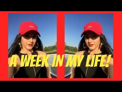 A WEEK IN MY LIFE #2 - Closet Tour, Working, Organizing