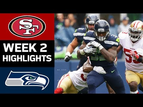 49ers vs. Seahawks | NFL Week 2 Game Highlights