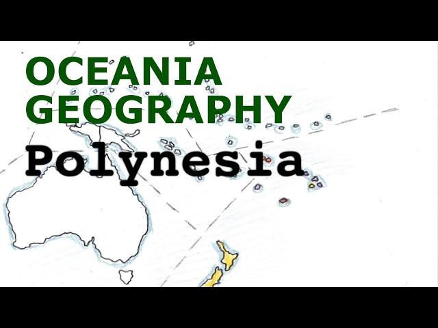Oceania Geography Song, Polynesia