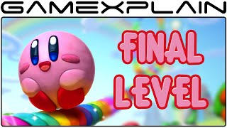 Kirby and the Rainbow Curse - Final Level, Final Boss Fight, Ending (1080p60fps) SPOILERS
