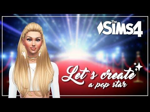 The Sims 4 Create A Sim  - Pop Star