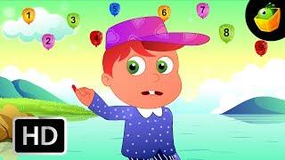 Number Rhymes - English Nursery Rhymes - Cartoon/Animated Rhymes For Kids