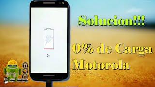 Solucion!!! Bateria Motorola 0% no carga Moto /G1/G2/G3/X1/X2/E1/E2 Facil