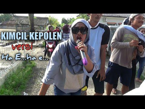 Kimcil kepolen Ha E ha E SOP MELOV | Andi putra 2 live cilandak 17 11 2017