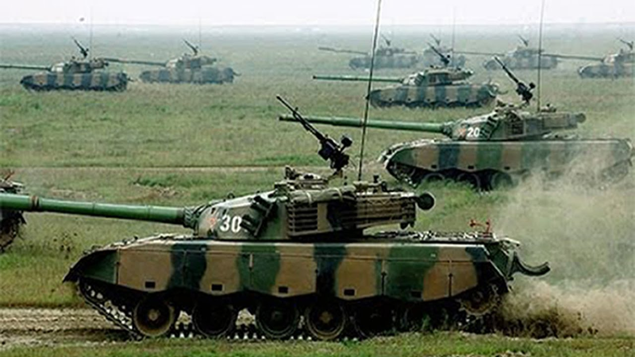 The tanks power from China fall behind Japan and Korea ...