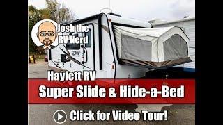 2016 Rockwood 21SS Roo Super Slide Hybrid Ultralite Used Travel Trailer