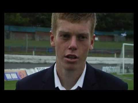 post match interview with Jon Robertson 13.8.11