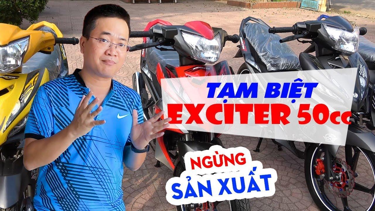 Exciter 50cc, Sirius 50cc, Wave 50cc, Dream 50cc: NGỪNG SẢN XUẤT!