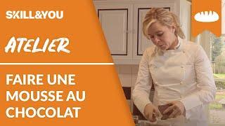 Comment faire une mousse au chocolat avec Christelle Brua