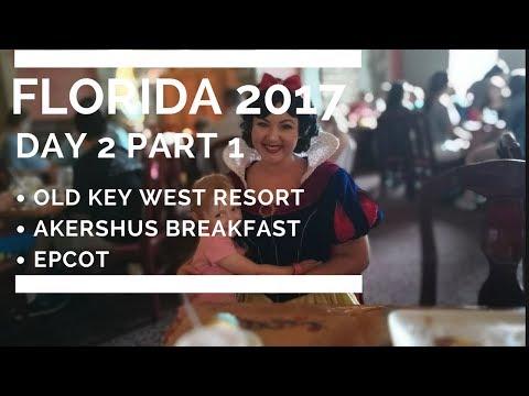 FLORIDA 2017 DAY 2.1 - OLD KEY WEST/AKERSHUS BREAKFAST/EPCOT