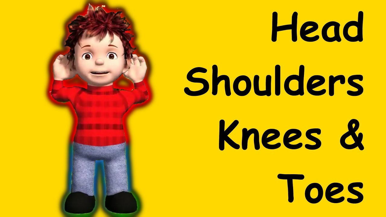 head shoulders knees toes family sing muffin songs youtube