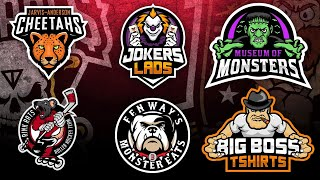 NEW 50+ Free Gaming Logo Templates | Mascot Logo for PC/Mobile