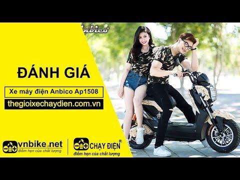 Chạy thử xe máy điện Anbico Ap1508