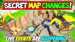 "*NEW* FORTNITE SECRET MAP CHANGES v8.20 ""LIVE EVENT!"" + ""HELICOPTER!"" + Season 8 Storyline (Part 2)"