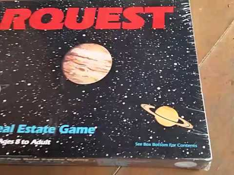 Solarquest Board Game - VINTAGE