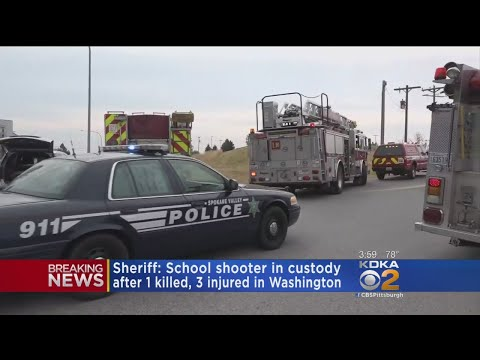 1 Dead, 3 Injured In Washington High School Shooting