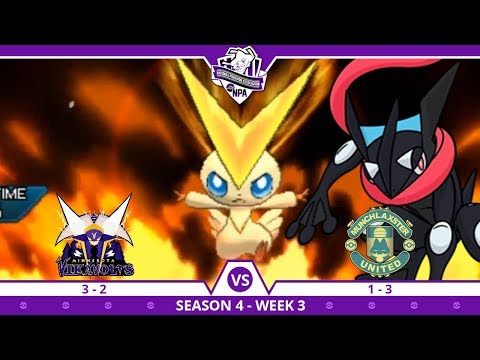 DOWN TO THE SCARF | Minnesota Vikavolts VS Munchlaxster United NPA S4 W6  | Pokemon Ultra S/M