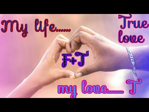 F And T letter whatsapp love status