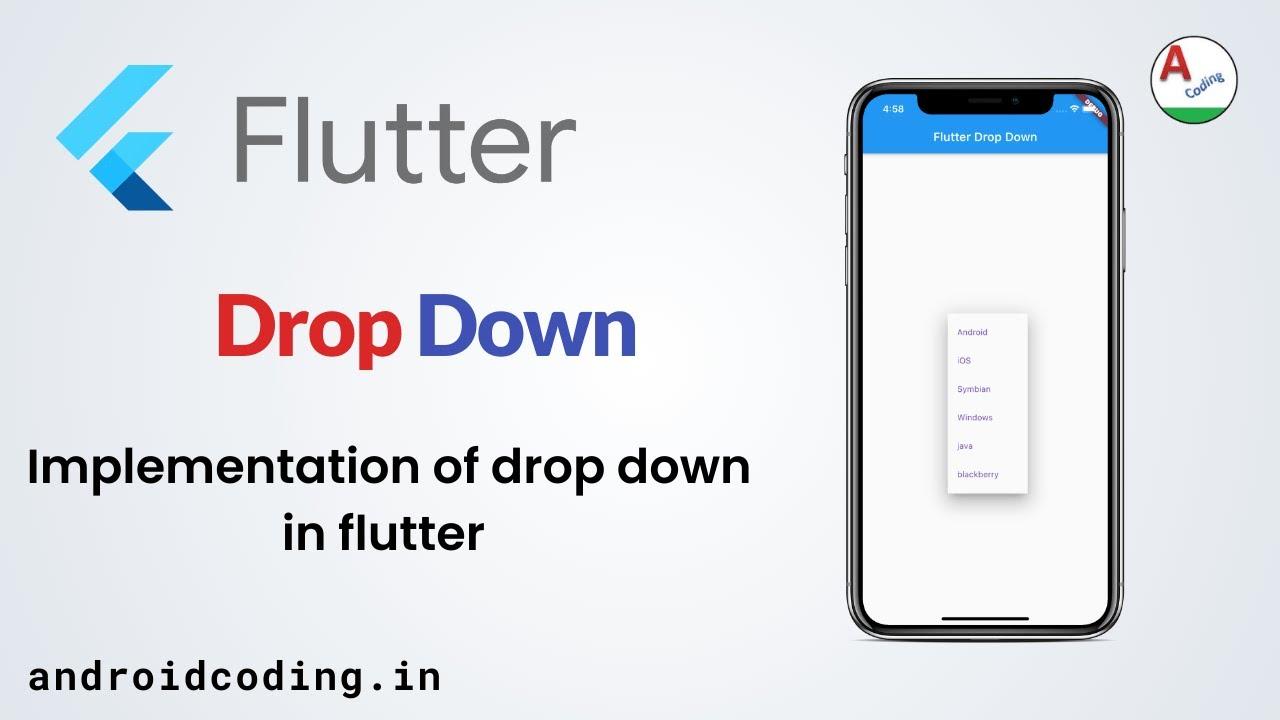 Beginner's Flutter Dropdown Tutorial | Source in description