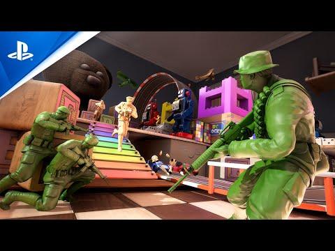 The Mean Greens - Plastic Warfare: Launch Trailer | PS4