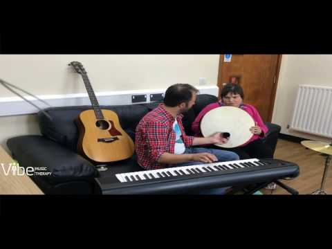 Debbie in Music Therapy part1