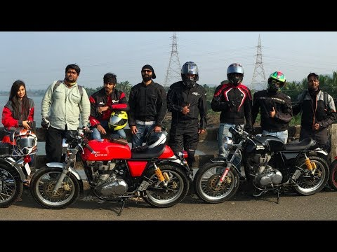 Motovlog   Ride to Kelwa Beach on the Royal Enfield Continental Gt