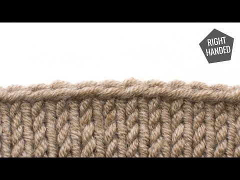 The Russian Bind Off :: Knitting Bind Off #5 :: Right Handed