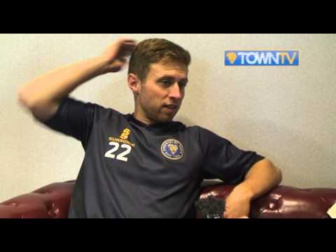 Jordan Clark pre Luton Town - Town TV