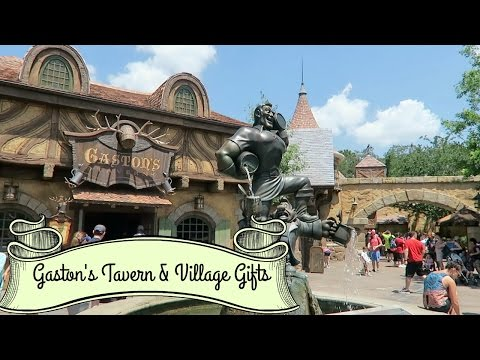 Gaston's Tavern and Village Gifts - Disney's Magic Kingdom