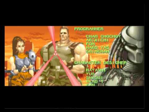 Aliens vs predator arcade ending