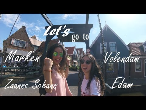Let's Visit... 4 Places In 1 Day!! | VLOG #6 | Marken, Volendam, Edam, Zaanse Schans | Nuria Castro