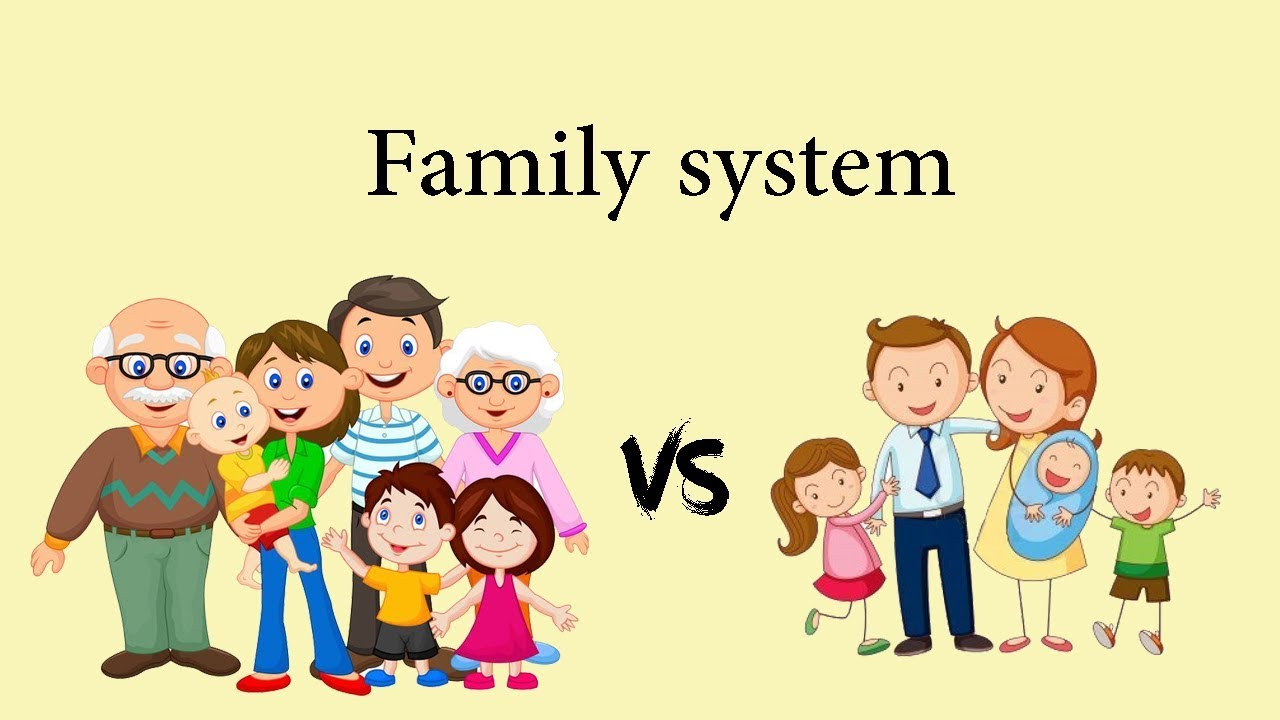 essay on nuclear family vs joint family Joint family vs nuclear family - do you live in a joint family do you really believe that living in a joint family can benefit you.