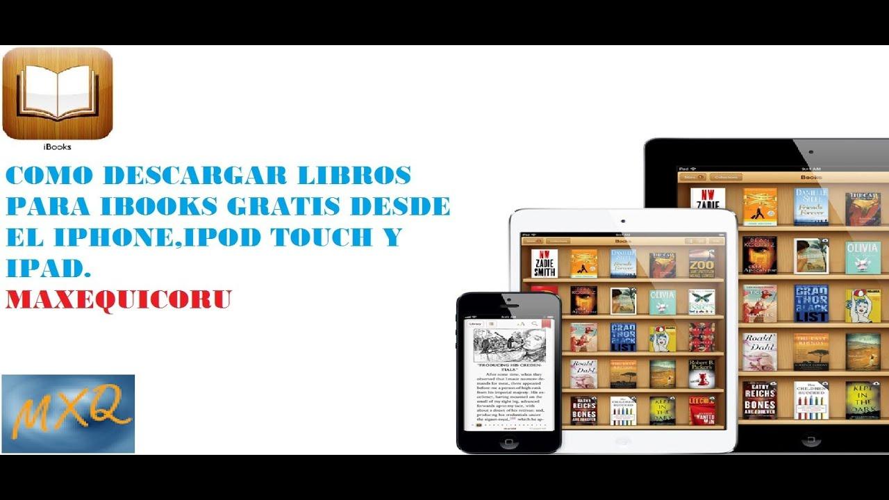 Como descargar libros en pdf para iphone